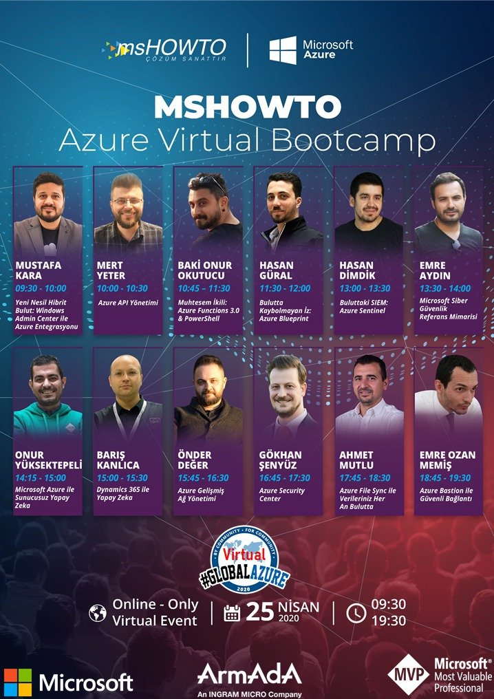 MSHowto Azure Virtual Bootcamp